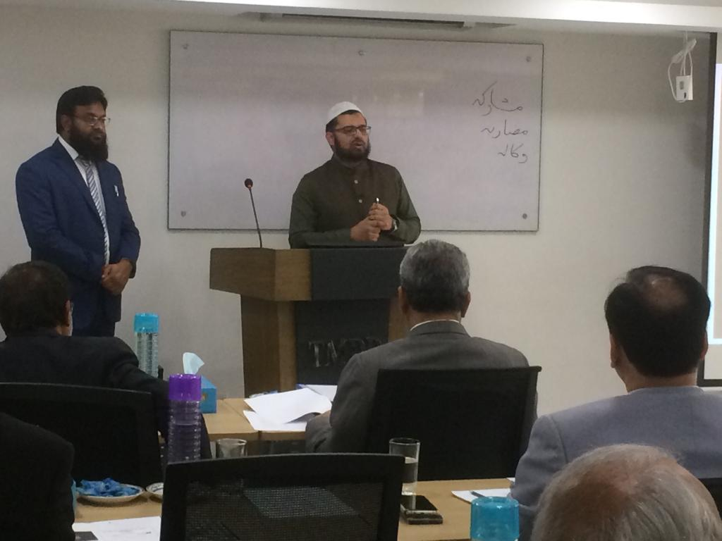 Mufti Abdullah Najeeb explaining Profit distribution mechanism